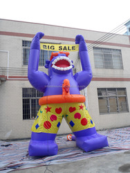2016 Inflatable King Kong Cartoon/ Customized Inflatable King Kong For Event