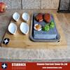 korean hot lava cooking stones pan, bowl
