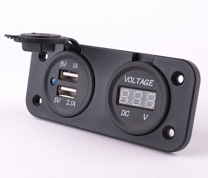 Наклейки для мотоцикла Dual USB f iphone ipad X 10093