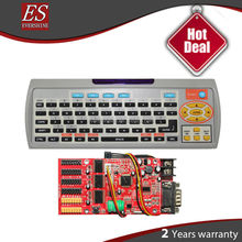 led wireless keyboard Support Indoor and outdoor Single /tricolor led Sign P10 P7.62 P4.75
