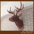 Cabeza de ciervo de moderna decoracion del hogar, cabezas de animales casa decoración de piezas