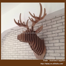 Modern deer head home decoration, animal heads home decoration pieces