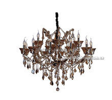 Egypt style modern red finish crystal chandelier