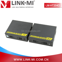 LM-HT204D 60m DVI to UTP Extender Transmitter & Receiver Over Cat6 Support DVI 1.3 Protocol Up to 1080p/60fs