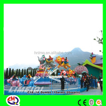 New Product Amusement Rides 8 Arms Self control flying elephant