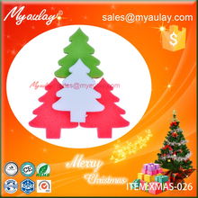 2015 Christmas decorations christmas tree sponge wholesale product XMAS-026