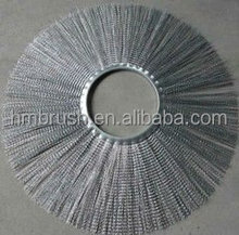 Wafer brush Road Sweeper Brushes Steel wire snow brush