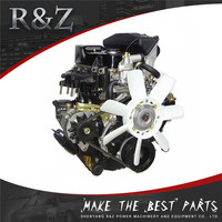 Good performance water cooled 4-cylinder 2hp engine