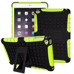 For Apple iPad Mini 4 Case Cover, For iPad Mini 4 Kickstand Case, TPU+PC Tire Pattern Hybrid Case For iPad