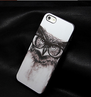 Hot Sale New Arrive personality fantasy Animal Series pictures back cover case for Iphone 5 5s Promotion Painted