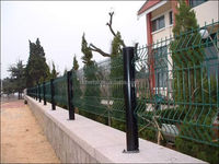 hot sale high quality dark brown vinyl fence