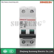 CE 63 amp b c d curve 2 phase circuit breaker