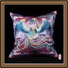 Top quality promotional poly/cotton 3d flower sofa cushion cover