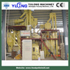 0.5-1.5t/h animal fish feed pellet production line CE
