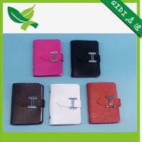 Top quality leather PU card case