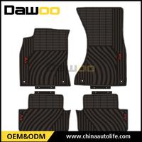 Used For Audi A4 model hot sale popular full color custom car mats , rubber floor mat car 3d