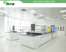 Beryl epoxy resin lab bench top, physics lab worktable,island worktable