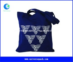 eco-friendly cotton canvas bag with long handle
