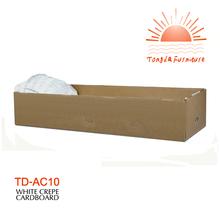 Td-ac10 papier cercueil pour le client fabriqués en maison funéraire