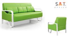 Modern Office Sofa Set Enjoyable Office Sofa Leather Manufacturing L-206B