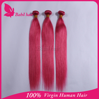 2015 the most fashionable cold fusion extension ombre rainbow color hair extensions
