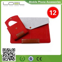 Felt Material Tablet Case, hot popular style Fit case for Macbook Air B022522(2)