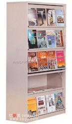 Hot Sale Magazine Rack School Library Furniture Metal Bookshelf