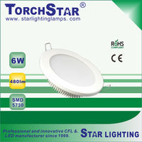 Positive lighting aluminum LED panel lamp