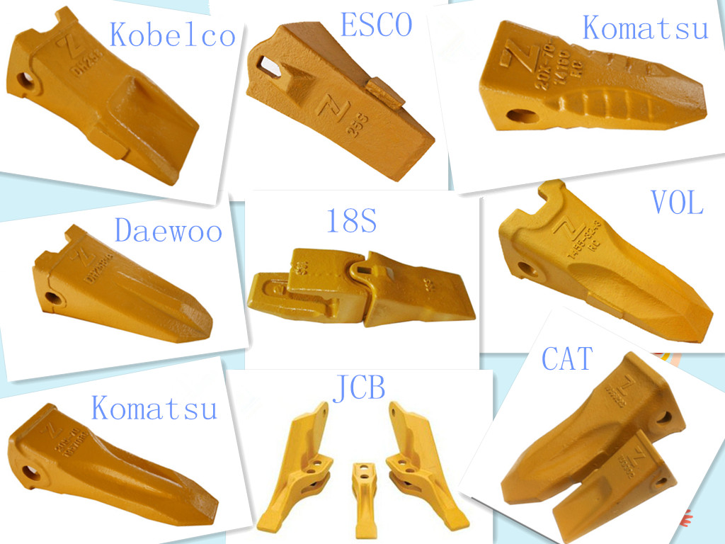 53103205 Tooth Points For 3cx Excavator Bucket Teeth Spare