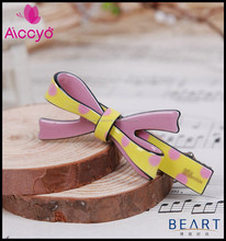 Wholesale cellulose acetate hair accessories butterfly hair clips