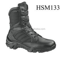 LB,full grain leather top quality artillery battle government issue combat military boots