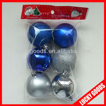 mini royal blue decorating christmas ball