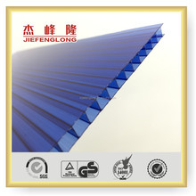 UV Protected Indoor Decorative Hollow Panel Roofing Sheet