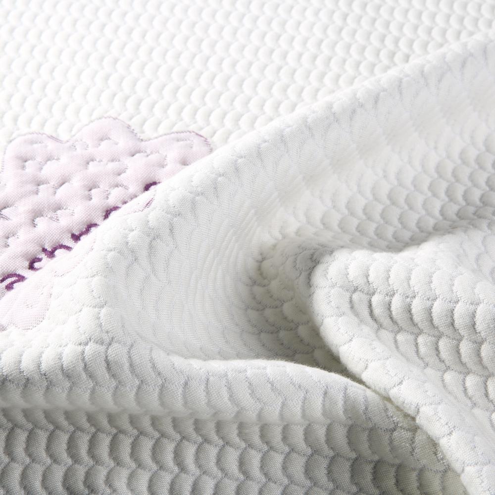 Diseño moderno Cachemira poliéster tela del colchón precio