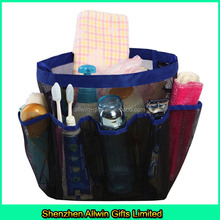 Wholesales multi-functional shower organizer, custom mesh shower caddy