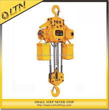 High Quality CE GS TUV Approved Electric Chain Hoist/building hoist