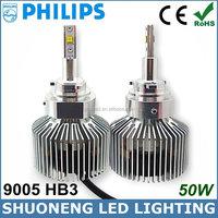 New Product 25W 3000lm 6000K 11V 30V Cars Accessories 9005 HB3 Auto LED Headlight