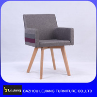 modern wooden fabric upholstered dining chair dining room furniture