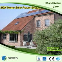 Sistema de energía solar para small homes, sistema de energía solar para el hogar