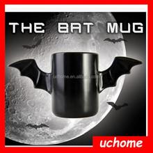 Uchome Fancy halloween funny bat Wings Mug
