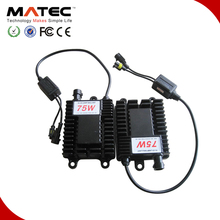 Best quality with competitive price 75w h4 hid xenon kit with H1,H3,H4,H7,9005,9006 hid bulb in different color
