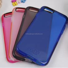 Transparent frosting tpu mobile case tech 21 phone case original cover