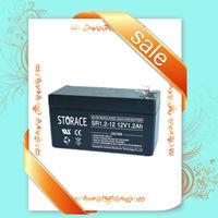 Emergency light Sealed lead-acid battery 12v 1.2ah