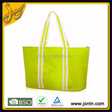 Durable Custom Polyester folding shopping tote Bag