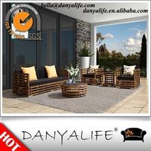 DYSF-EV1528 Danyalife Hot Selling OEM Hand Making Wicker Open Air Sofas