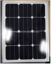 Custom size solar panel use US sunpower 125x125mm solar cells EU standards