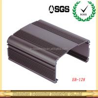 hot sale aluminum power inverter enclosure 88.6*47mm(W*H),high quality electronic aluminum extruded enclosures factory