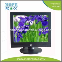 Long working time and High quality 15 inch tft computer monitor with optional interface