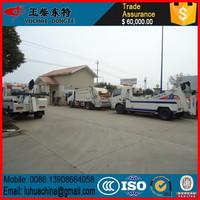 Rotator Wrecker 20 ton Heavy Duty Rotator Tow Truck Heavy Recovery Trucks Truck Bed Side