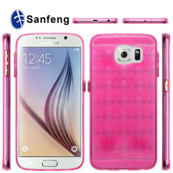 New products!! TPU Case with start S-line design smart case for Samsung Galaxy S6